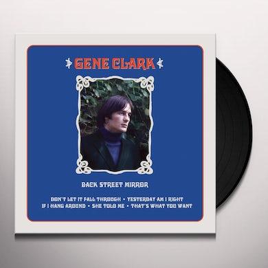 Gene Clark BACK STREET MIRROR Vinyl Record