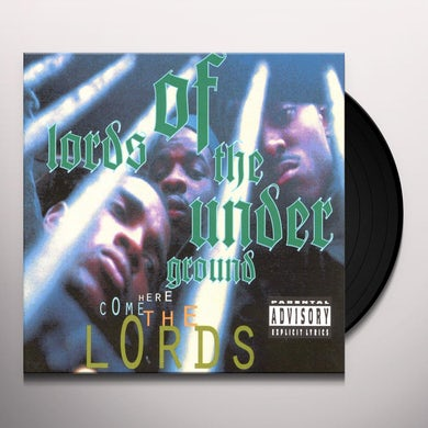 Lords of the Underground HERE COME THE LORDS Vinyl Record