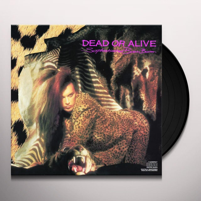 Dead or Alive SOPHISTICATED BOOM BOOM Vinyl Record