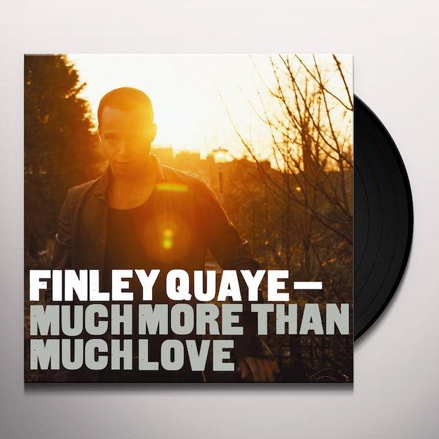 Finley Quaye MUCH MORE THAN LOVE Vinyl Record