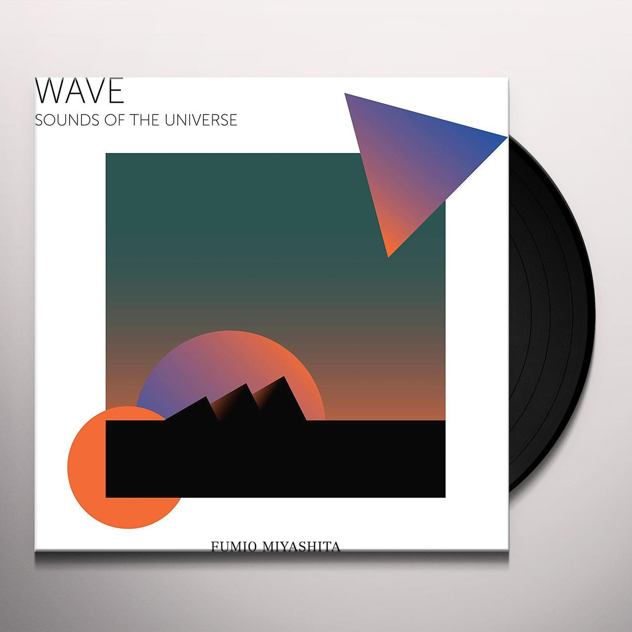 Fumio Miyashita WAVE SOUNDS OF THE UNIVERSE Vinyl Record