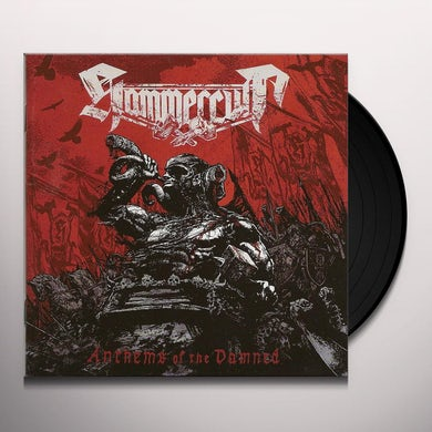 Hammercult ANTHEMS OF THE DAMNED Vinyl Record