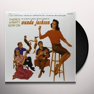 Wanda Jackson THERE'S A PARTY GOIN ON Vinyl Record