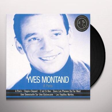 Yves Montand PARIS Vinyl Record