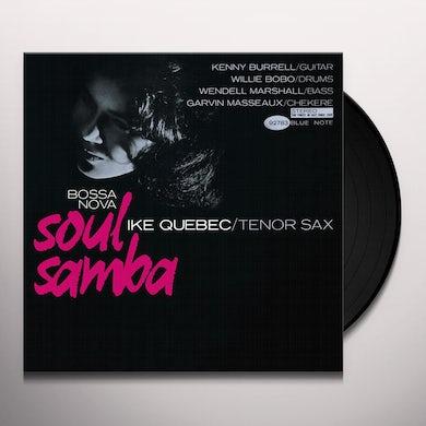 Ike Quebec BOSSA NOVA / SOUL SAMBA Vinyl Record