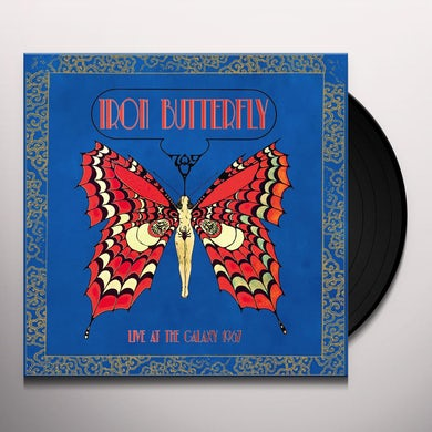 Iron Butterfly LIVE AT THE GALAXY 1967 Vinyl Record