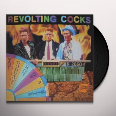 Revolting Cocks LIVE! YOU GODDAMNED SON OF A BITCH Vinyl Record