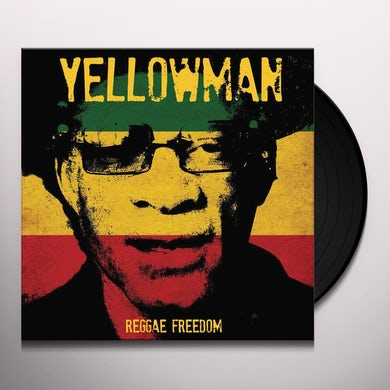 Yellowman REGGAE FREEDOM (YELLOW MARBLE VINYL) Vinyl Record
