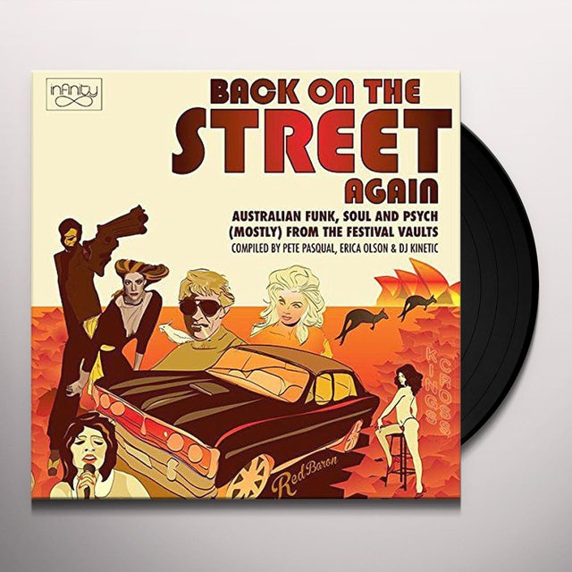 BACK ON THE STREET AGAIN: AUSTRALIAN FUNK SOUL &
