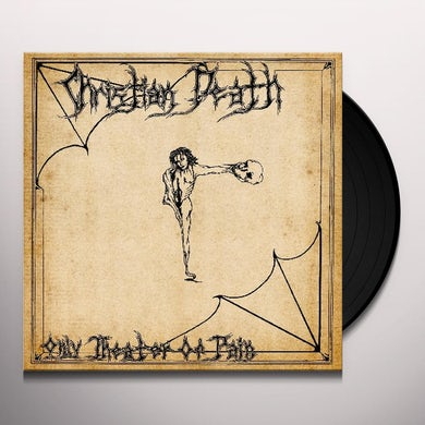 Christian Death ONLY THEATRE OF PAIN Vinyl Record