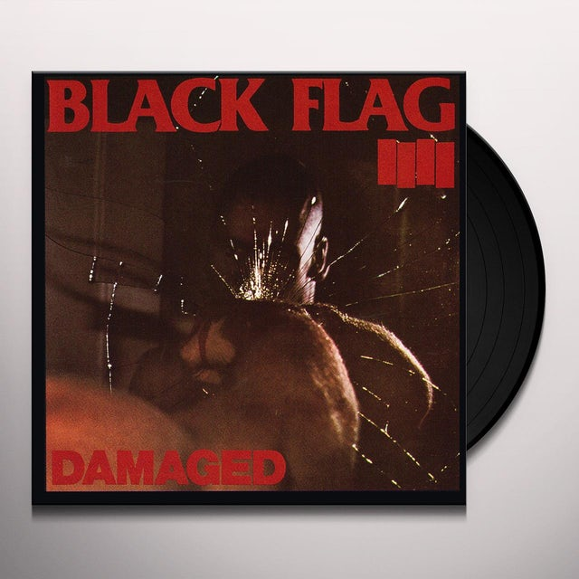 Black Flag DAMAGED Vinyl Record