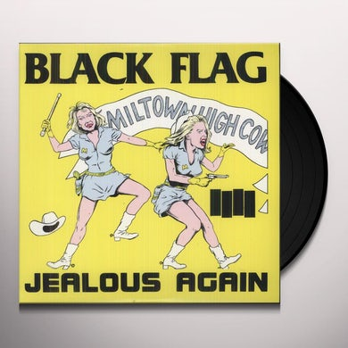 Black Flag JEALOUS AGAIN Vinyl Record