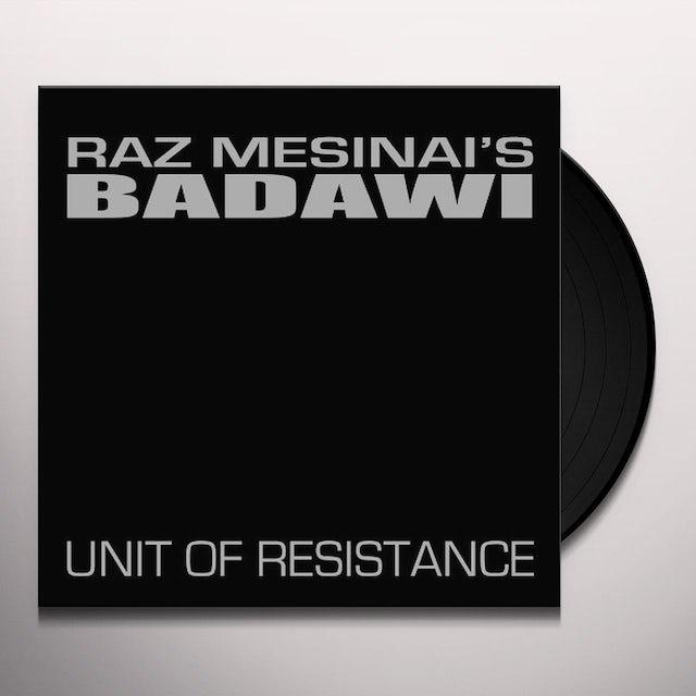 Raz Mesinai UNIT OF RESISTANCE Vinyl Record