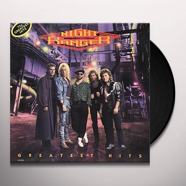 Night Ranger GREATEST HITS Vinyl Record