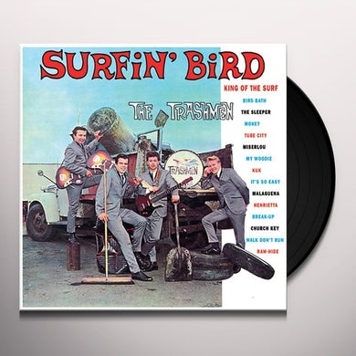 The Trashmen SURFIN BIRD Vinyl Record