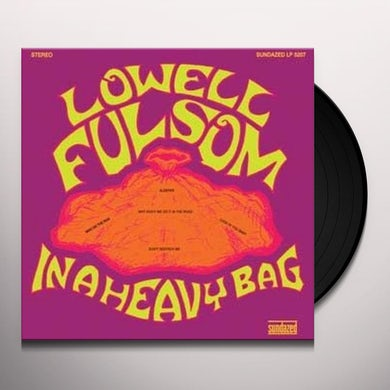 Lowell Fulson IN A HEAVY BAG Vinyl Record