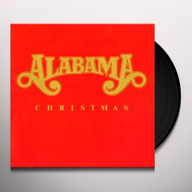 Alabama CHRISTMAS Vinyl Record