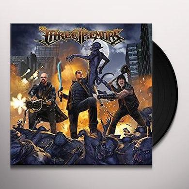 THREE TREMORS (GOLD VINYL) Vinyl Record