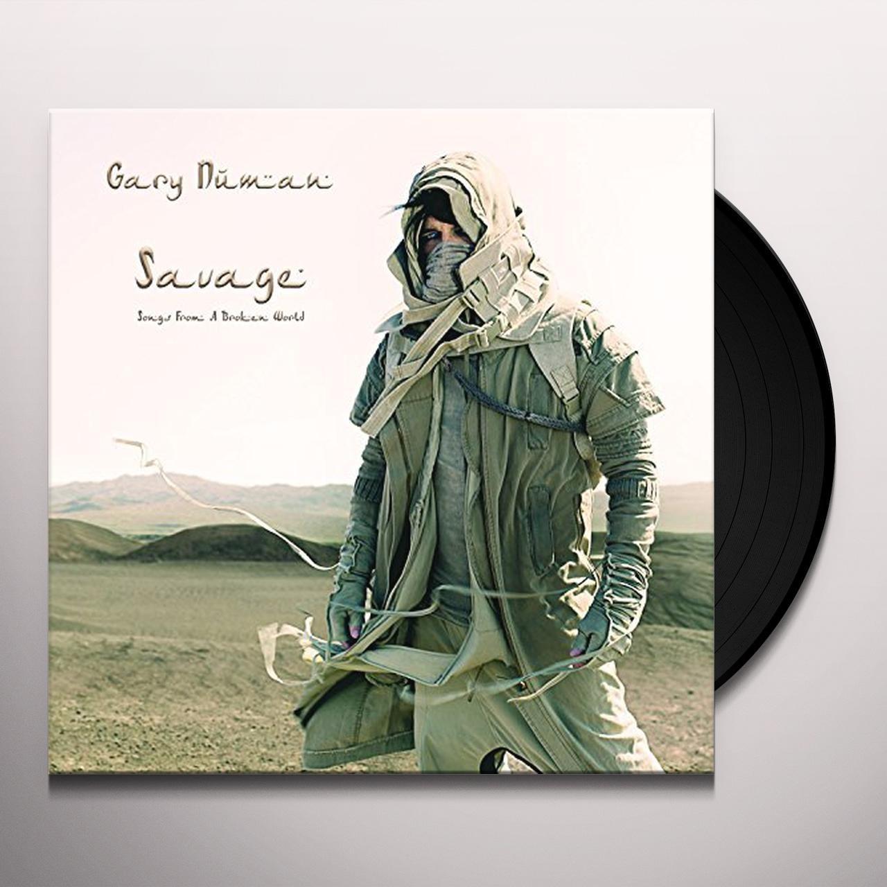 Tubeway Army - Savage NEW Gary Numan Songs From A Broken World T-Shirt