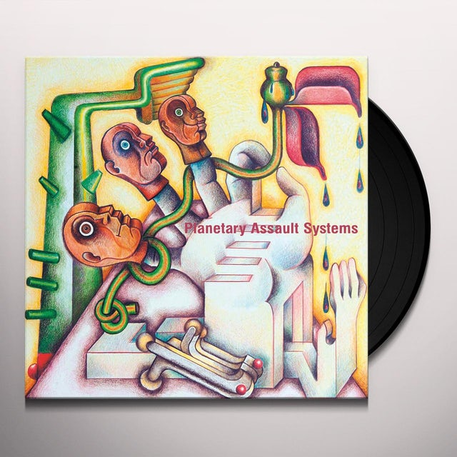 Planetary Assault Systems PLANTAE Vinyl Record