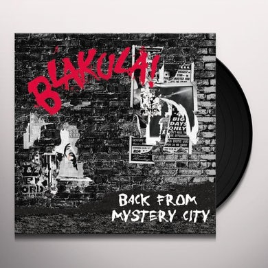 Blakula BACK FROM MYSTERY CITY Vinyl Record