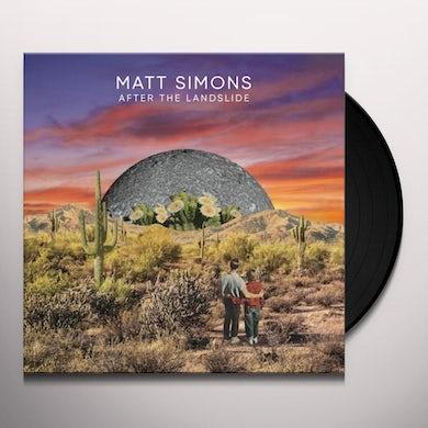 Matt Simons AFTER THE LANDSLIDE Vinyl Record