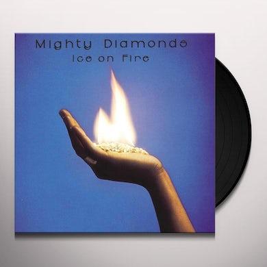 Mighty Diamonds ICE ON FIRE Vinyl Record