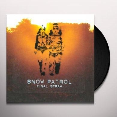 Snow Patrol FINAL STRAW Vinyl Record