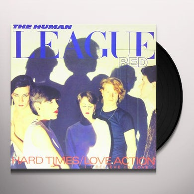 The Human League LOVE ACTION (I BELIEVE IN LOVE) Vinyl Record