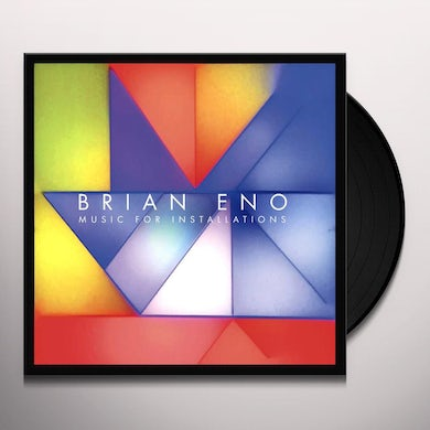 Brian Eno Music For Installations Vinyl Record