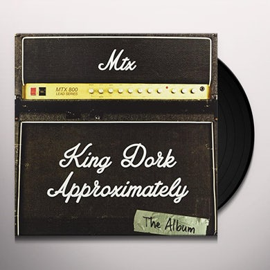 Mr. T Experience  KING DORK APPROXIMATELY THE ALBUM Vinyl Record