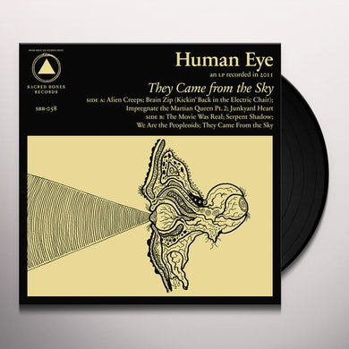 Human Eye THEY CAME FROM THE SKY Vinyl Record