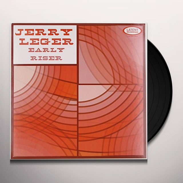 Jerry Leger EARLY RISER Vinyl Record - Canada Release