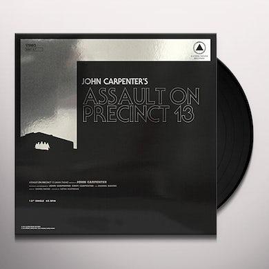 John Carpenter ASSAULT ON PRECINCT 13 / FOG / O.S.T. Vinyl Record