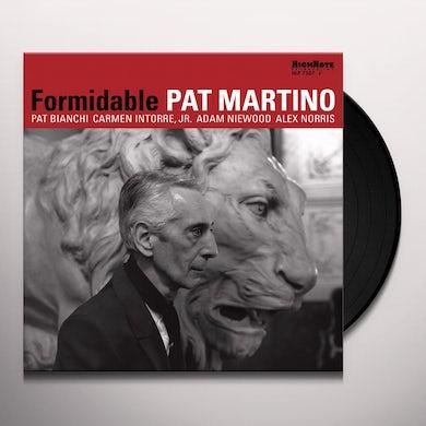 Pat Martino FORMIDABLE Vinyl Record