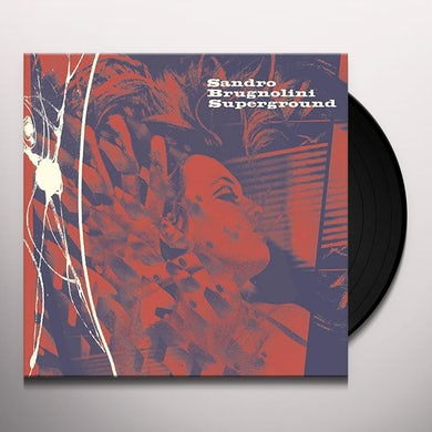 Sandro Brugolini SUPERGROUND / Original Soundtrack Vinyl Record