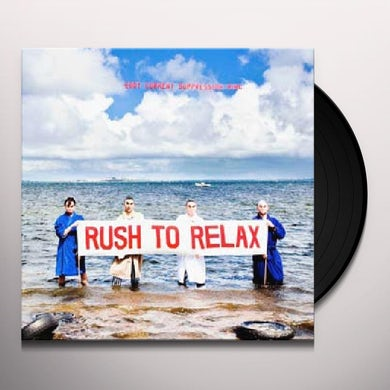 Eddy Current Suppression Ring RUSH TO RELAX Vinyl Record