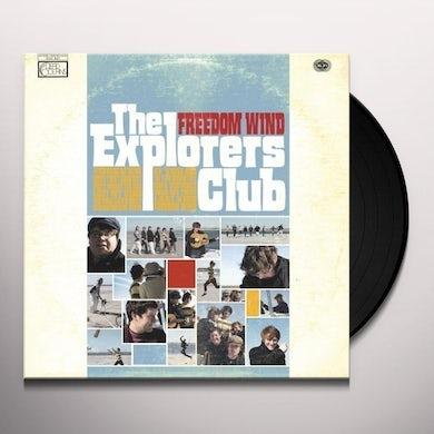 Explorers Club FREEDOM WIND Vinyl Record