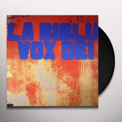 Vox Dei BIBLIA Vinyl Record