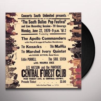 South Dallas Pop Festival Vinyl Record