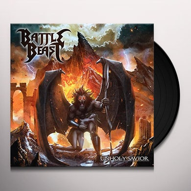 Battle Beast UNHOLY SAVIOR Vinyl Record