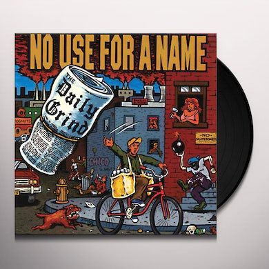 No Use For A Name DAILY GRIND Vinyl Record