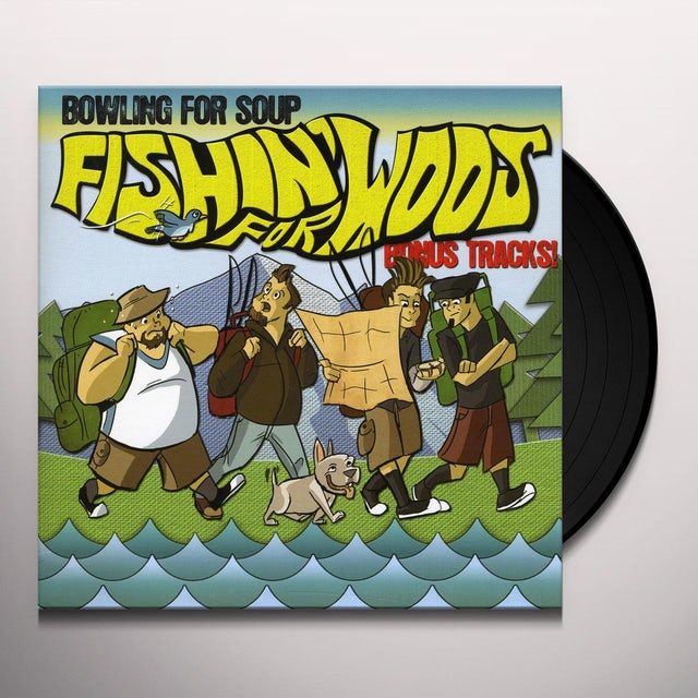 Bowling For Soup FISHIN' FOR WOOS Vinyl Record - UK Release