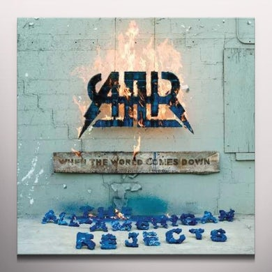 The All-American Rejects WHEN THE WORLD COMES DOWN Vinyl Record