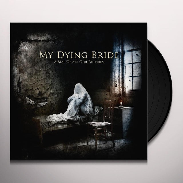 My Dying Bride MAP OF ALL OUR FAILURES Vinyl Record