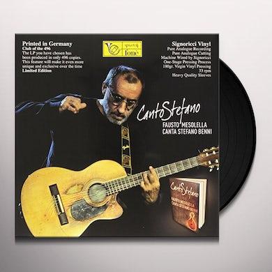 Fausto Mesolello CANTO STEFANO Vinyl Record