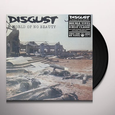 Disgust WORLD OF NO BEAUTY Vinyl Record