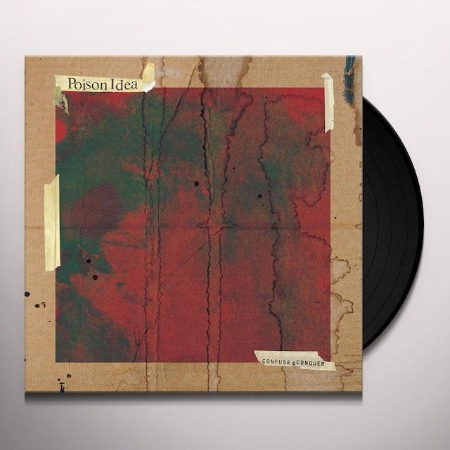 Poison Idea CONFUSE & CONQUER Vinyl Record