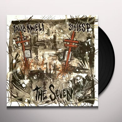 Talib Kweli THE SEVEN (SPLATTER VINYL) Vinyl Record