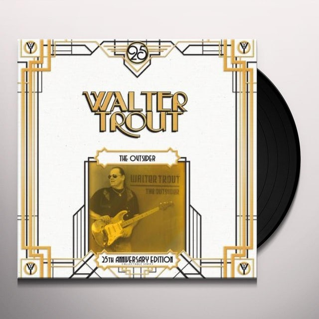Walter Trout OUTSIDER: 25TH ANNIVERSARY SERIES Vinyl Record
